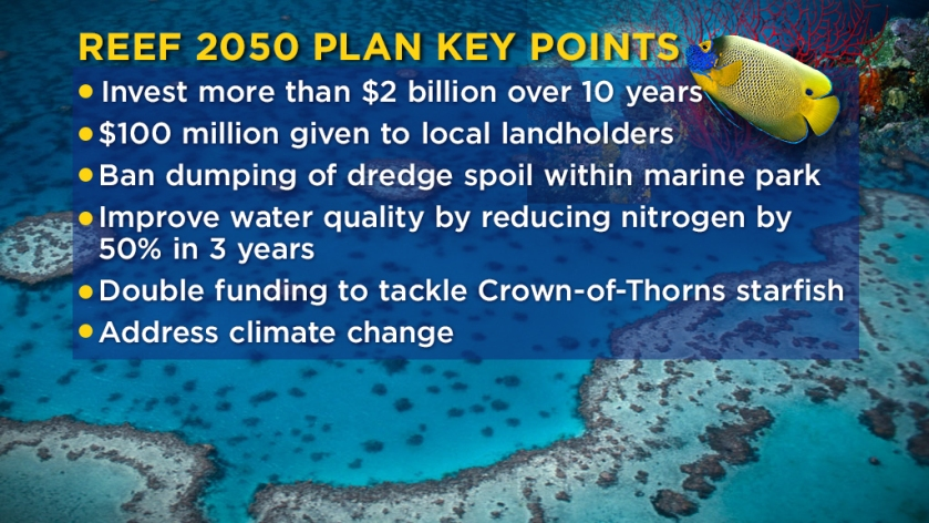 Reef 2050 Long-Term Sustainability Plan